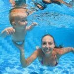 bebe nageur piscine