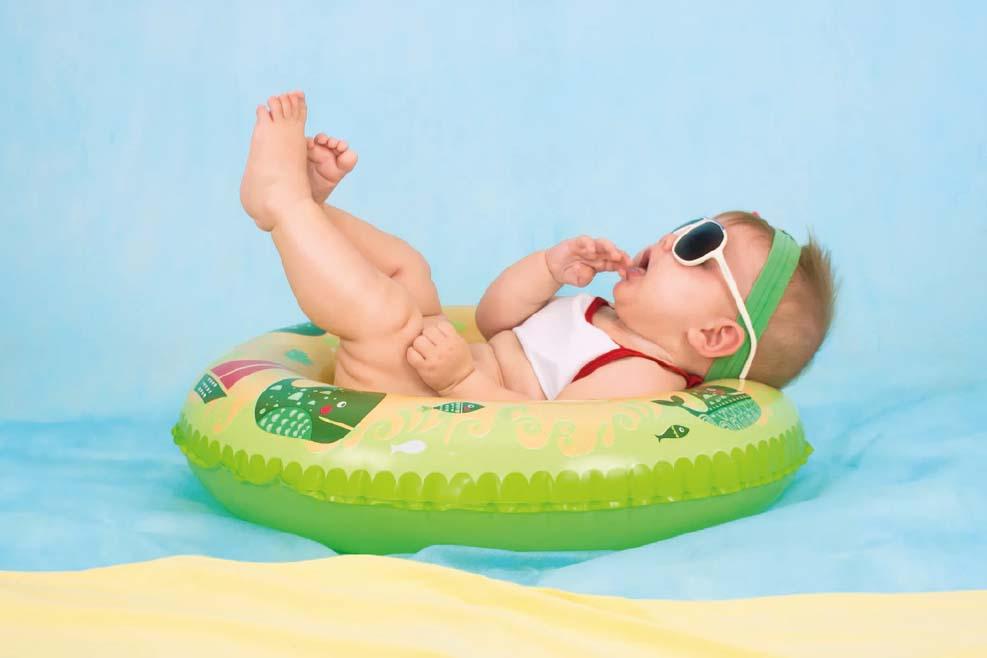 Quelle bouée choisir pour mon enfant cet été ?